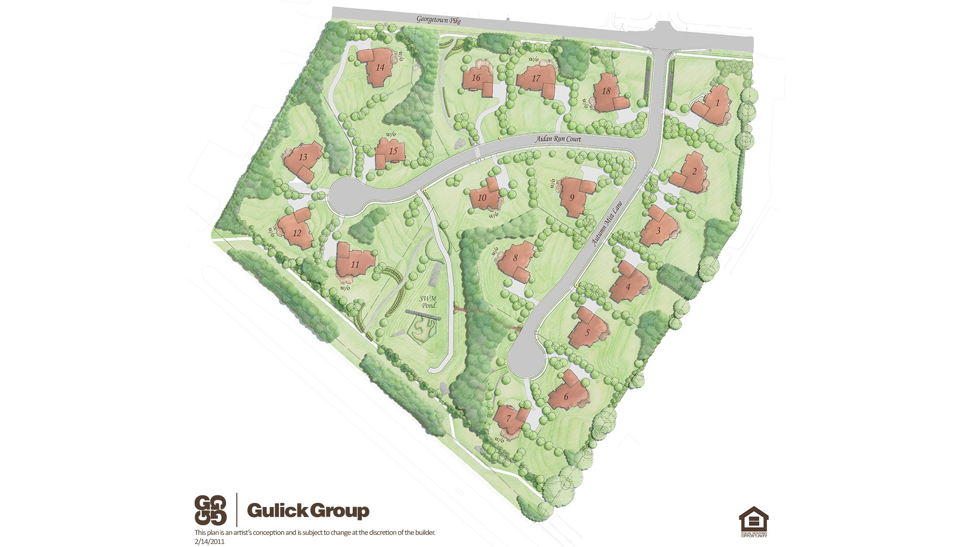 Autumn Wood Site Plan