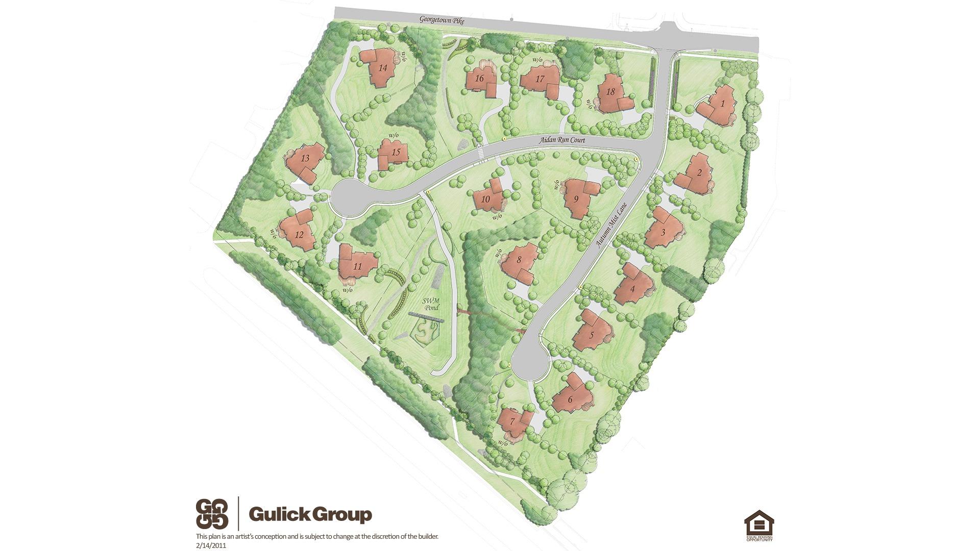 Autumn Wood Site Plan