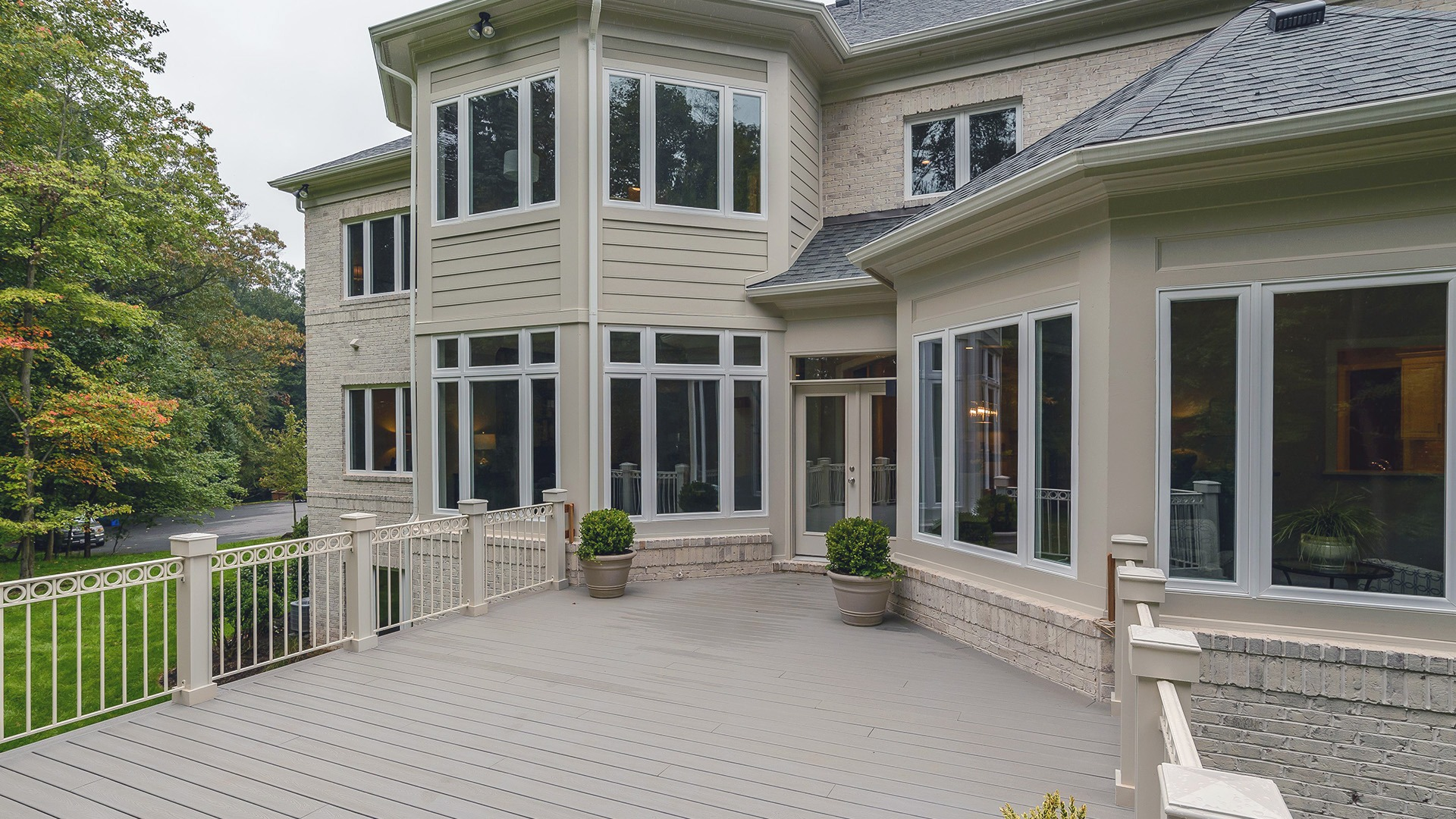 Example Home Rear Deck