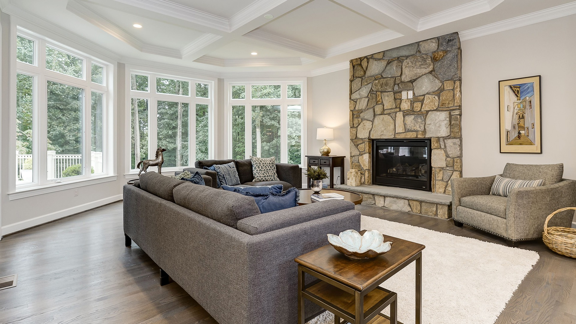 Example Home Family Room