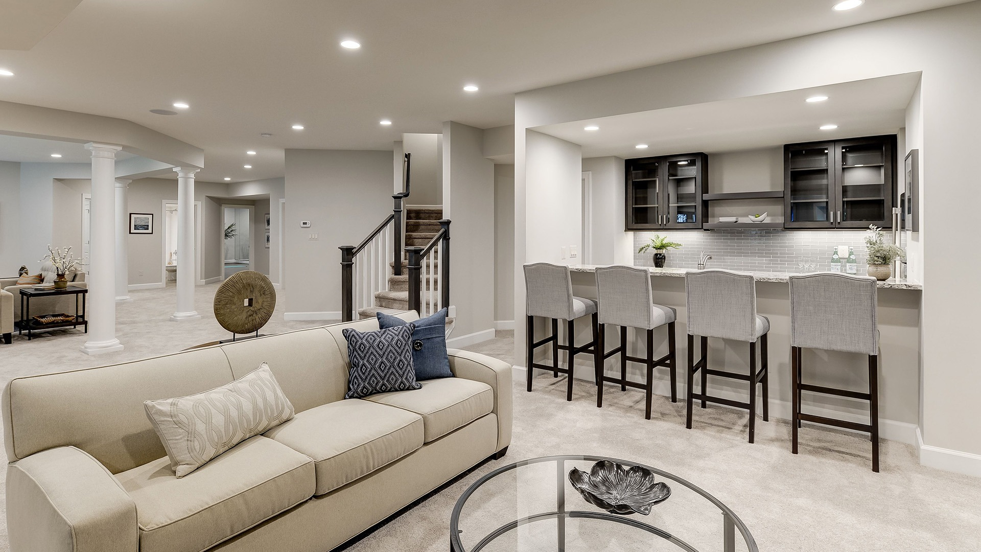 Example Home Game Room