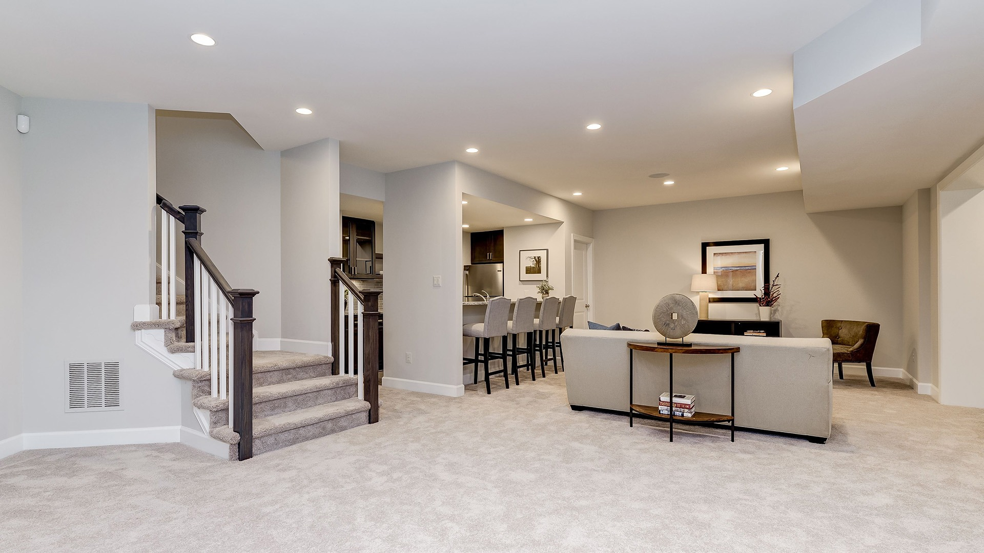 Example Home Lower Level