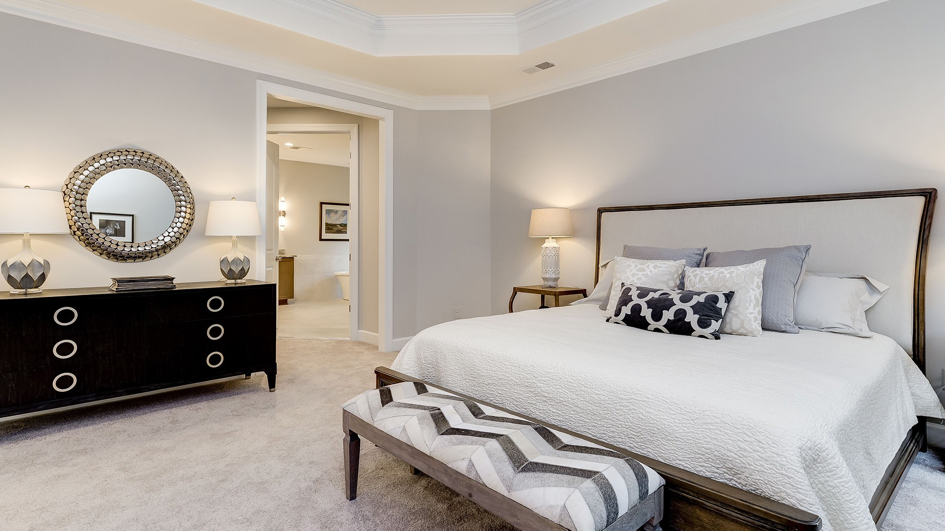 Example Home Owner's Bedroom