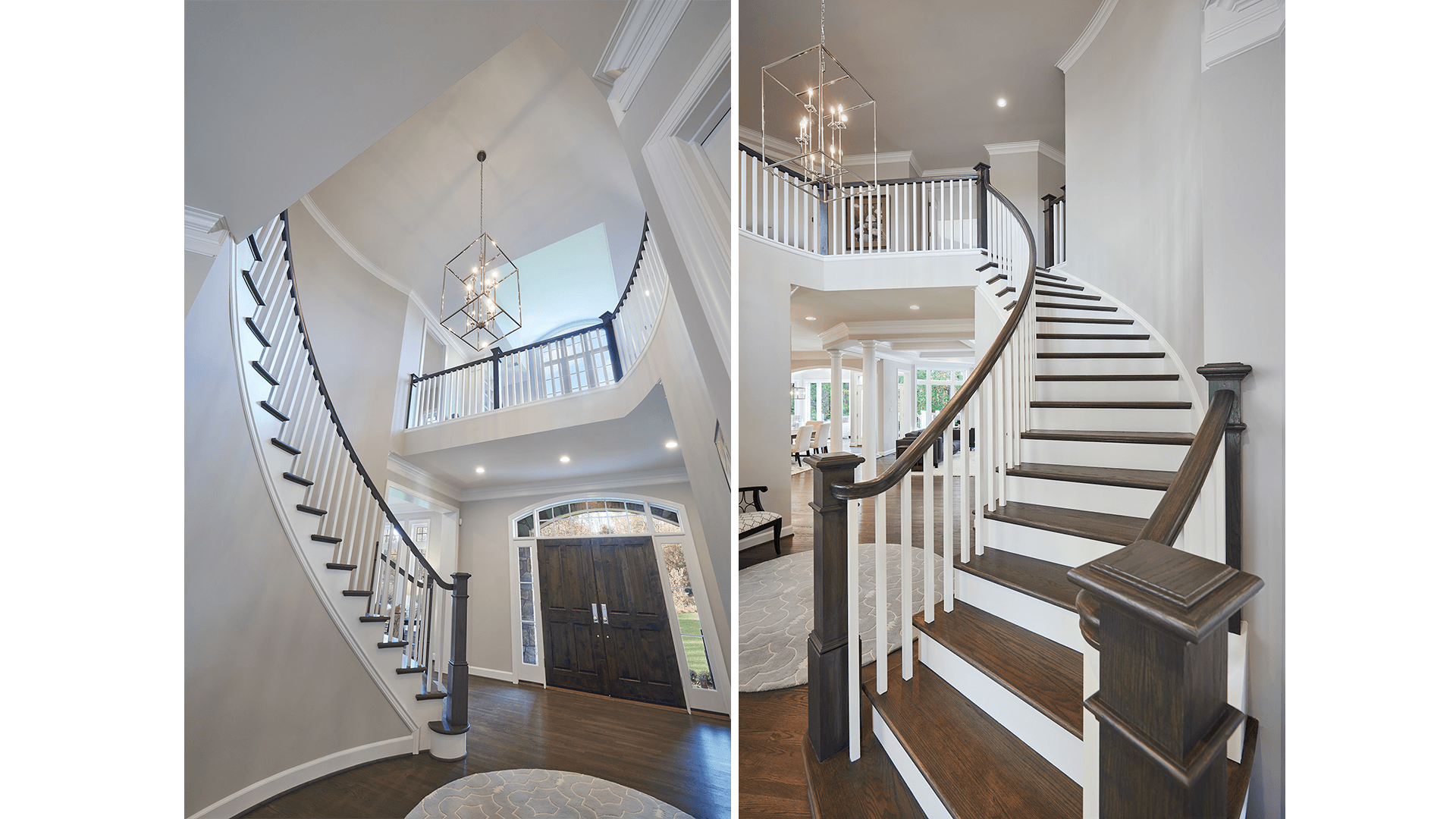 Example Home Foyer and Stair