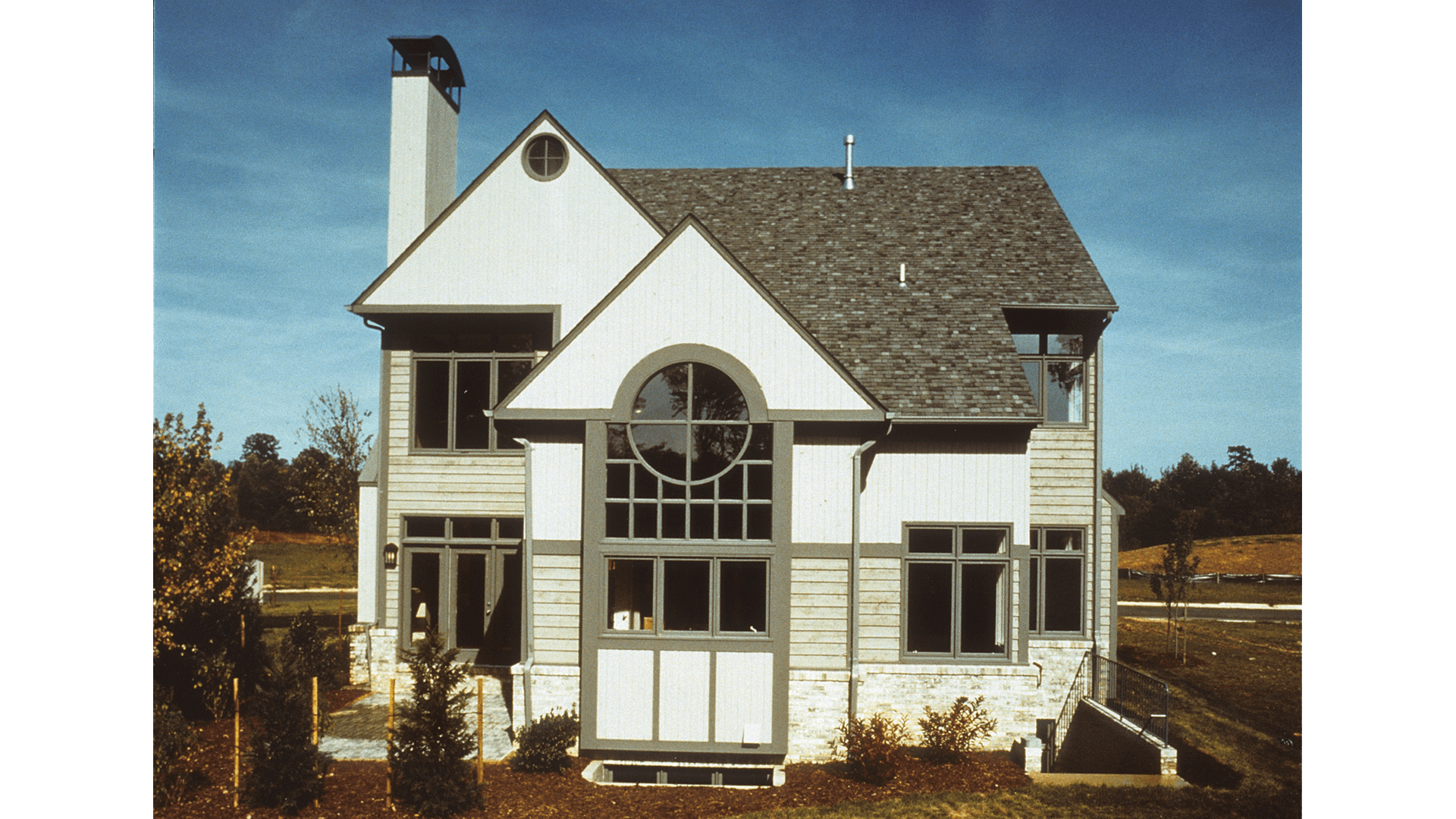 Exterior from Newport Shores