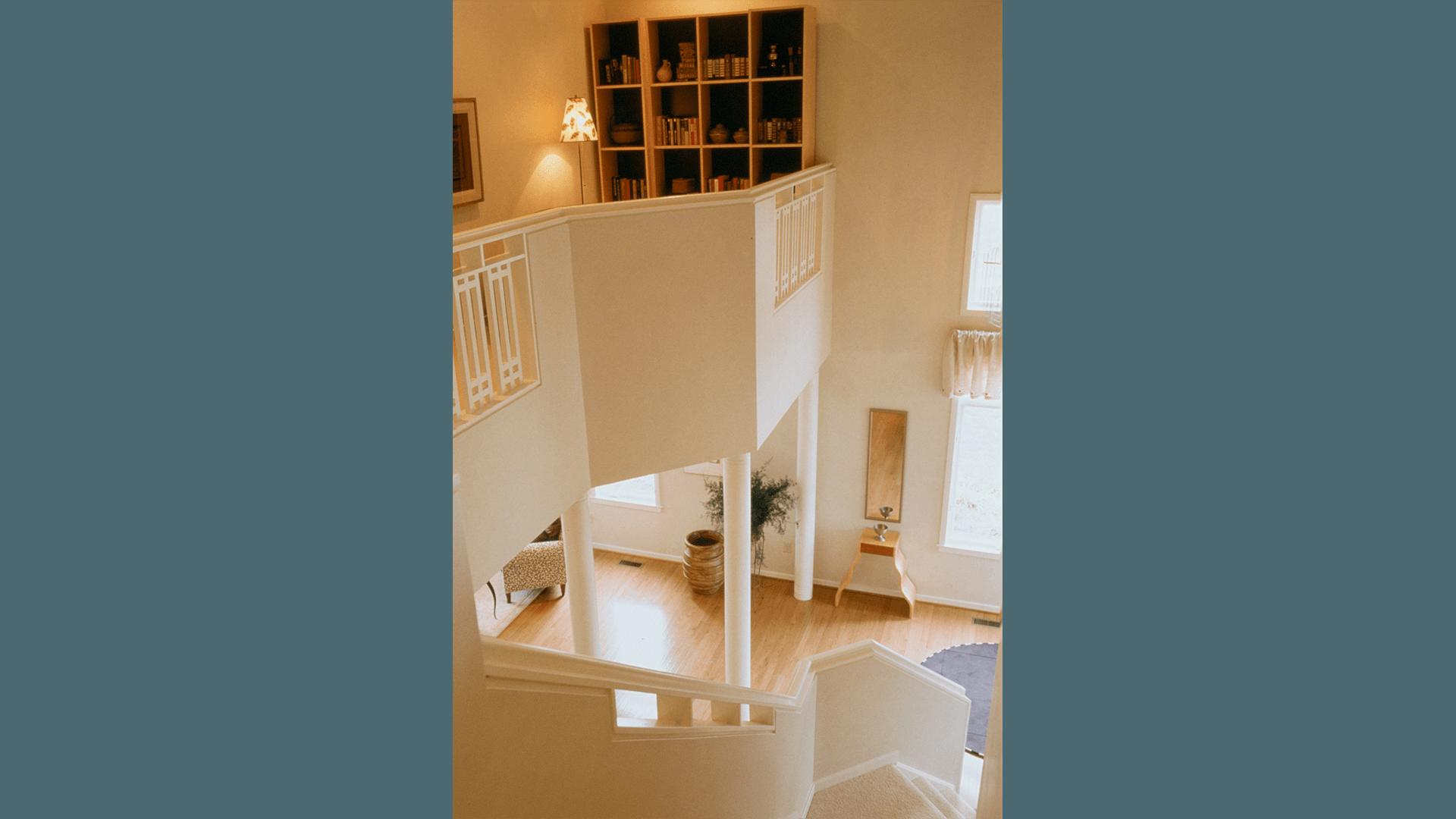 Family Room in Newport Shores