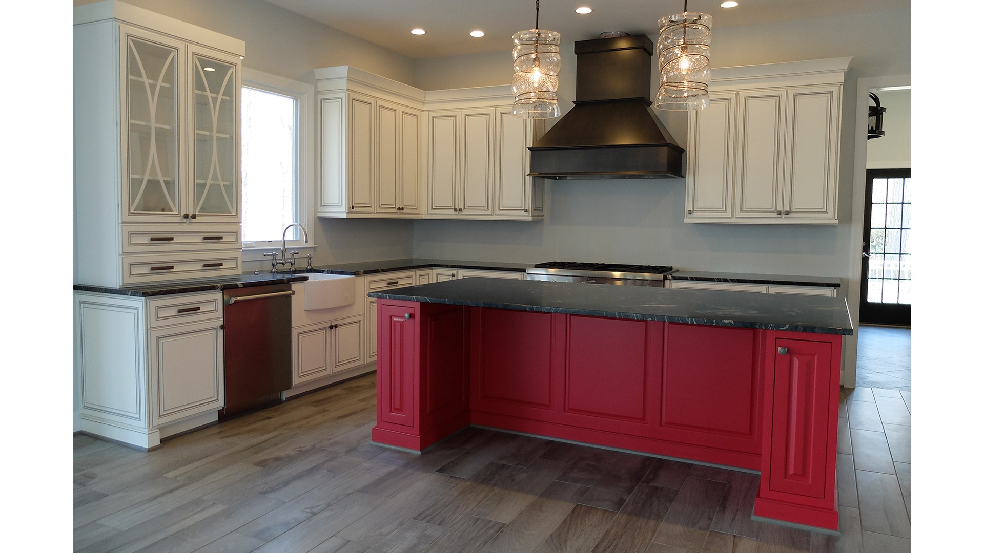 The Kitchen in a Gulick | One semi-custom Grayson in Great Falls.