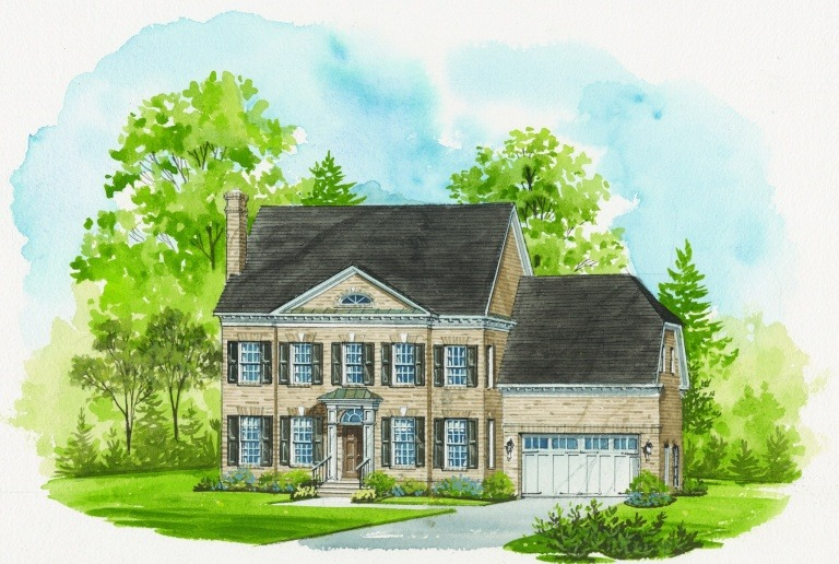 Artist's Rendering of the Ashcroft at Brambleton Section 17H.