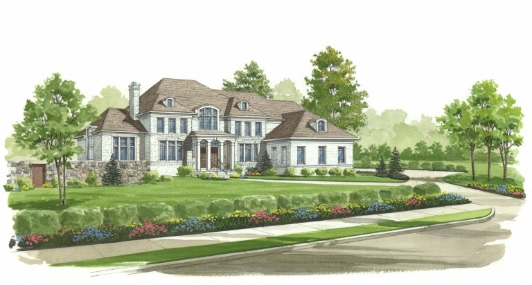 Rendering of the Winthrop model at Autumn Wood