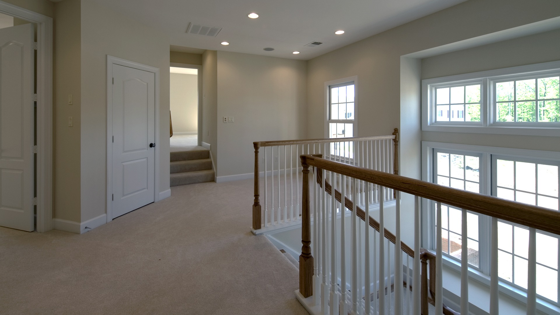 The Loft in the Brentwood model in Brambleton. Some options shown.