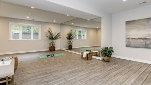 Winthrop Expanded Exercise Room. Some optional features shown.