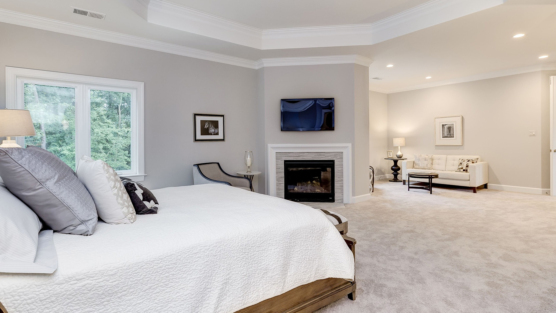 Winthrop Owner's Bedroom. Some optional features shown.