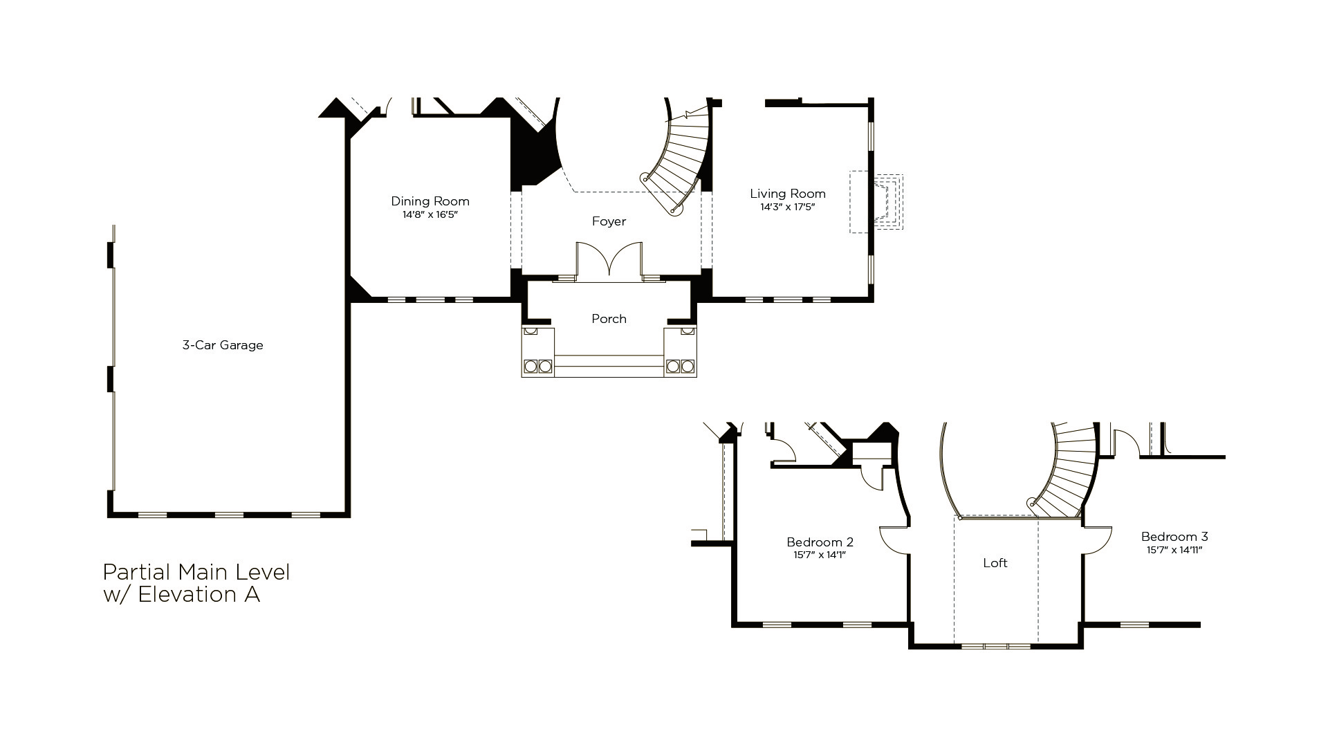 Winthrop - Summerwood Series - Optional Elevation A Floorplan
