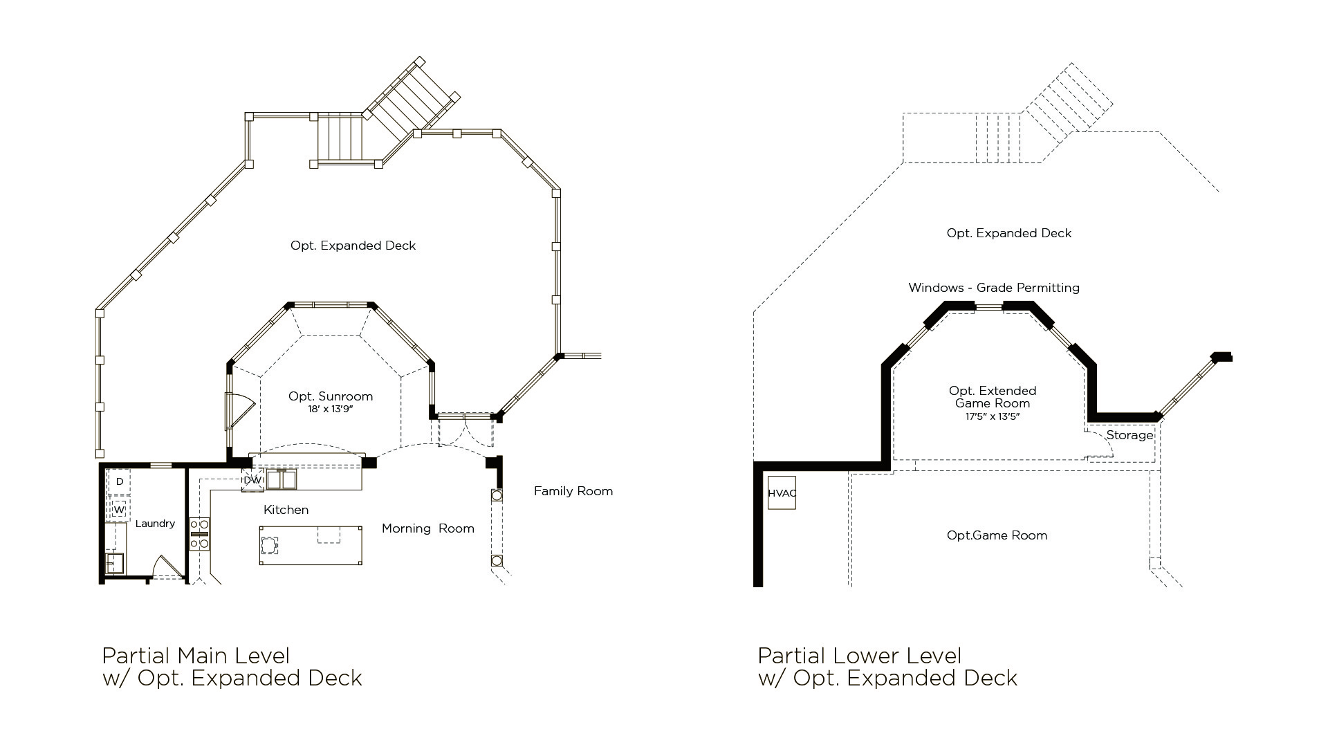 Winthrop - Summerwood Series - Optional Expanded Deck