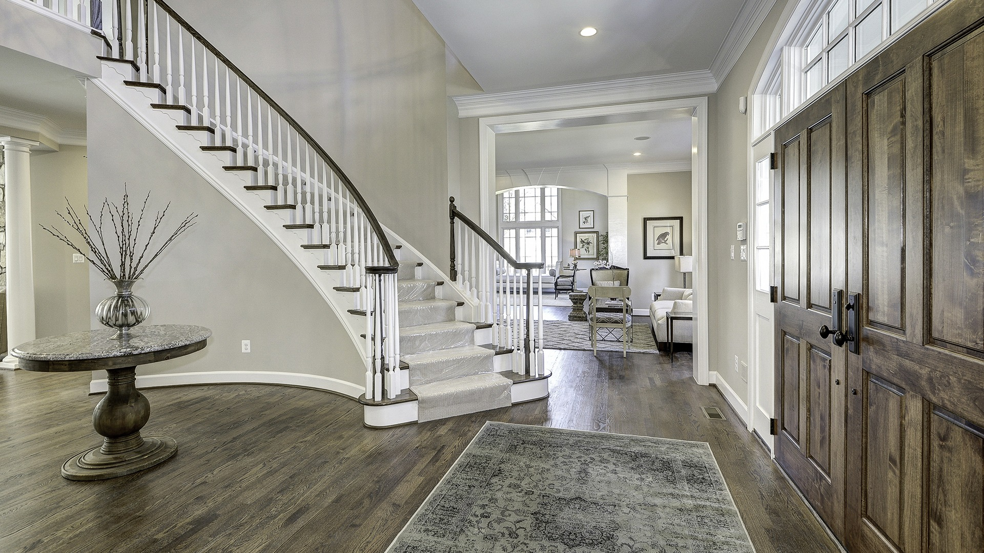 The Foyer in Carper Street, a Gulick | One custom home.