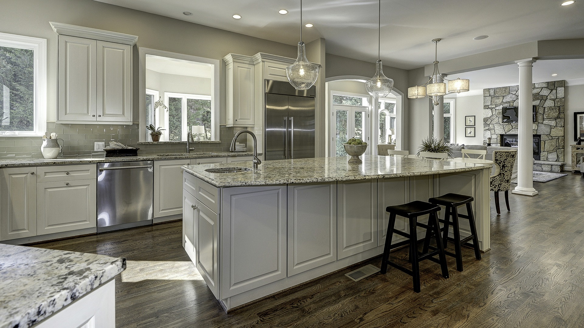 The Kitchen in Carper Street, a Gulick | One custom home.