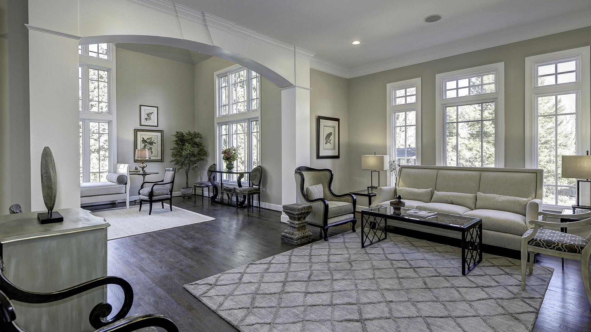 The Living Room in Carper Street, a Gulick | One custom home.