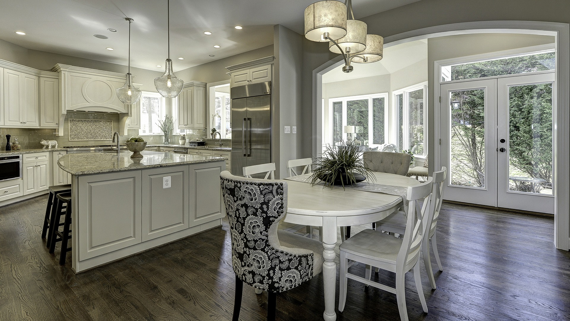 The Morning Room in Carper Street, a Gulick   One custom home.