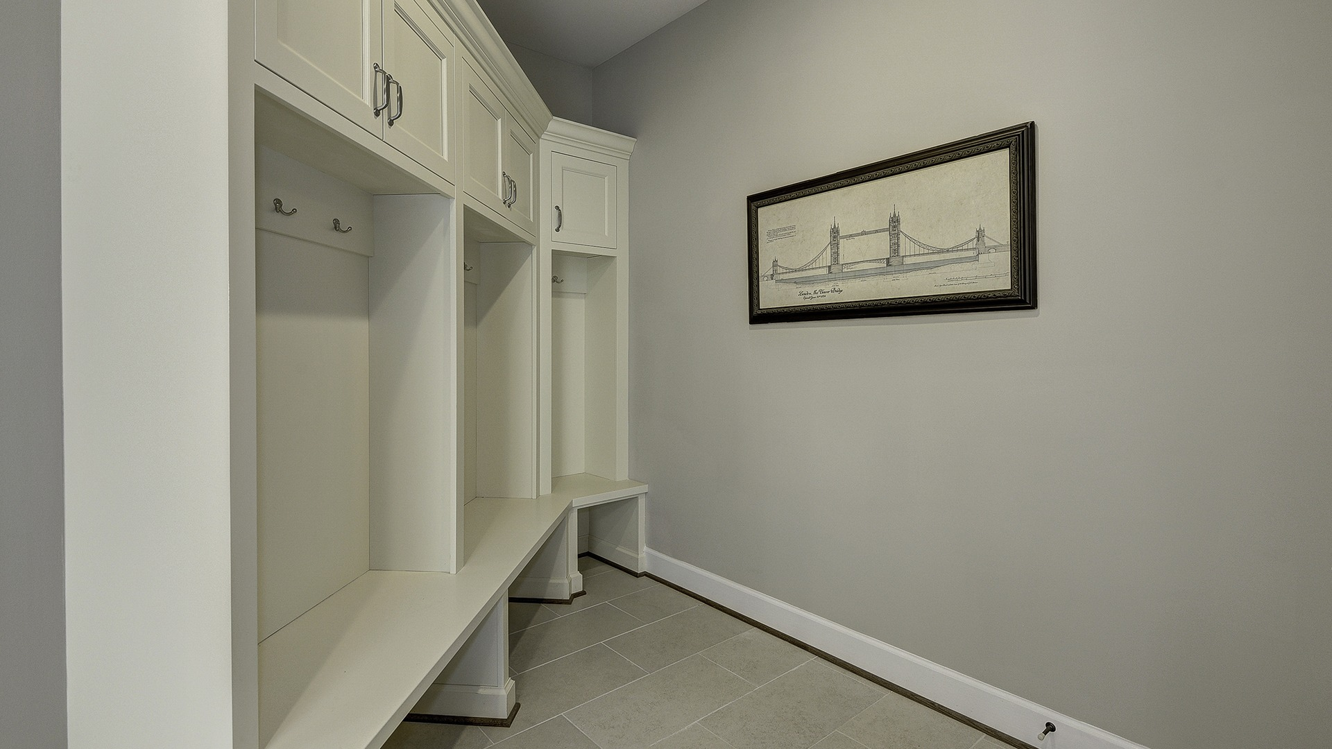 The Mudroom in Carper Street, a Gulick | One custom home.