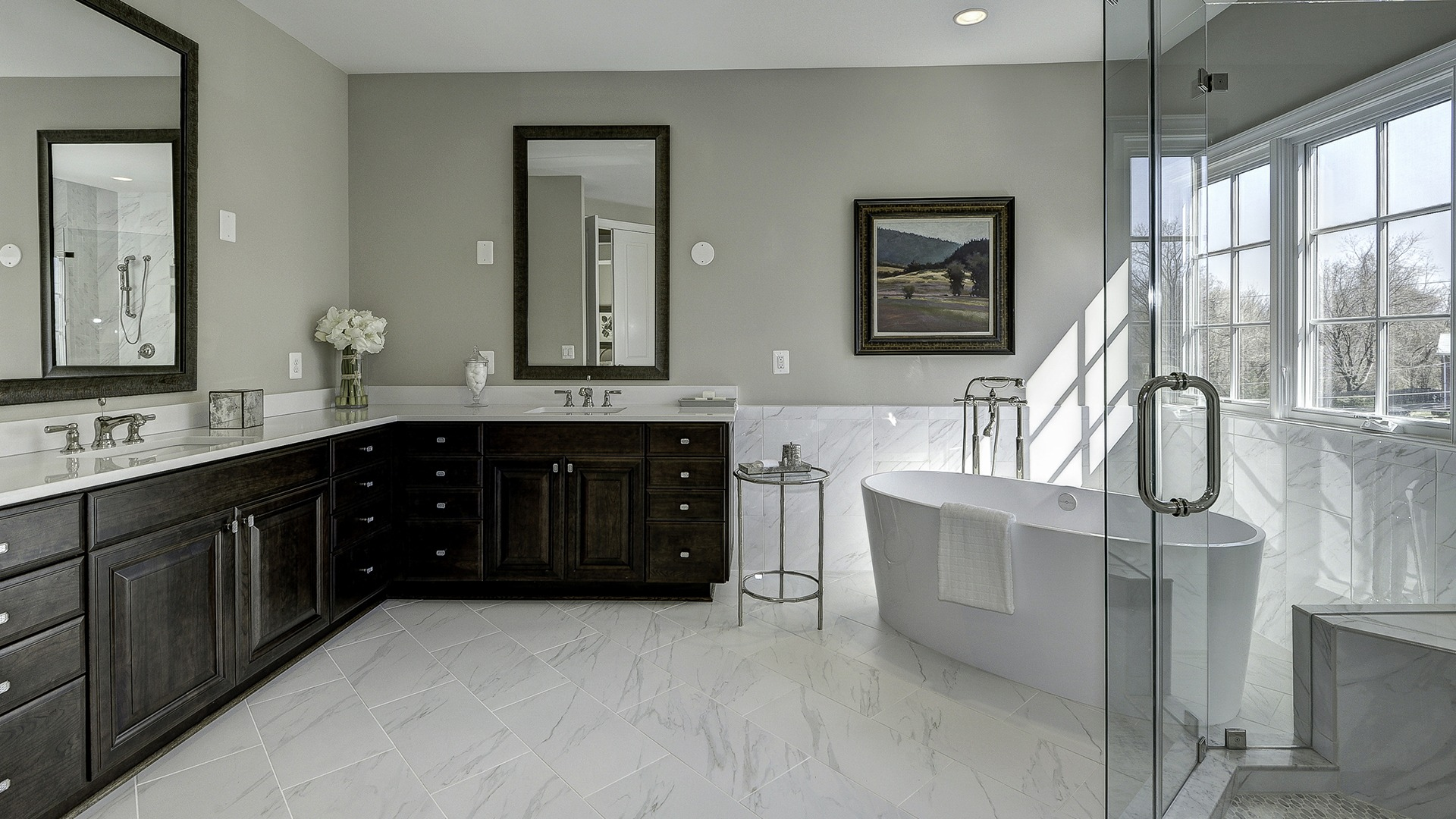 The Owner's Bath in Carper Street, a Gulick | One custom home.