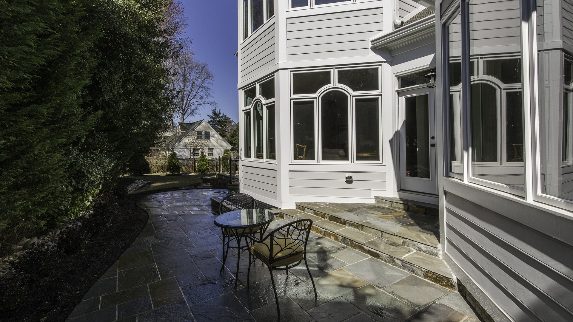 The Patio in Carper Street, a Gulick | One custom home.