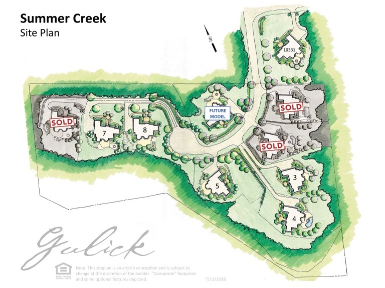 Summer Creek Site Map