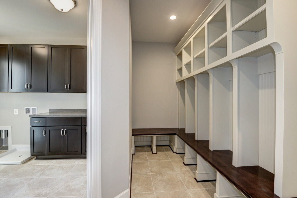 The Mudroom and Laundry in a Gulick | One custom