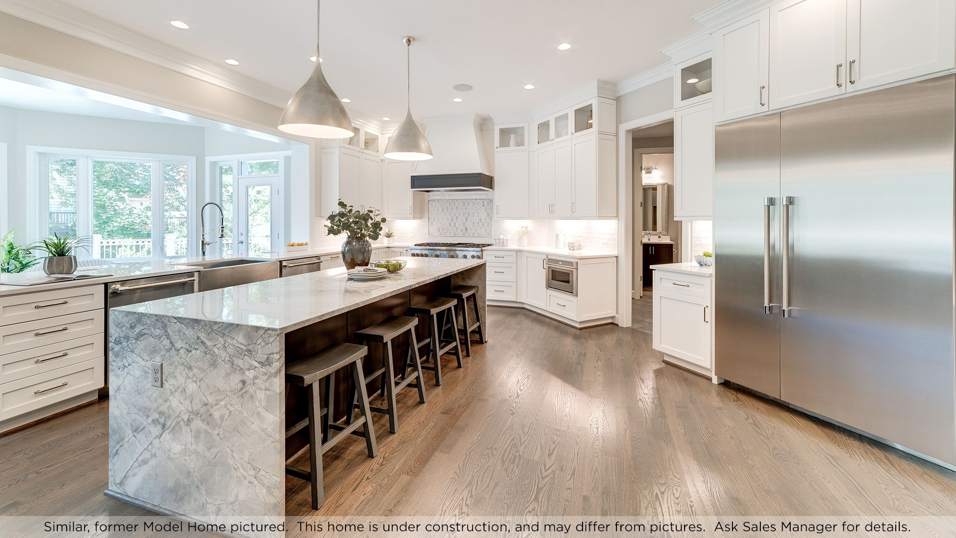 Kitchen, similar Model Home