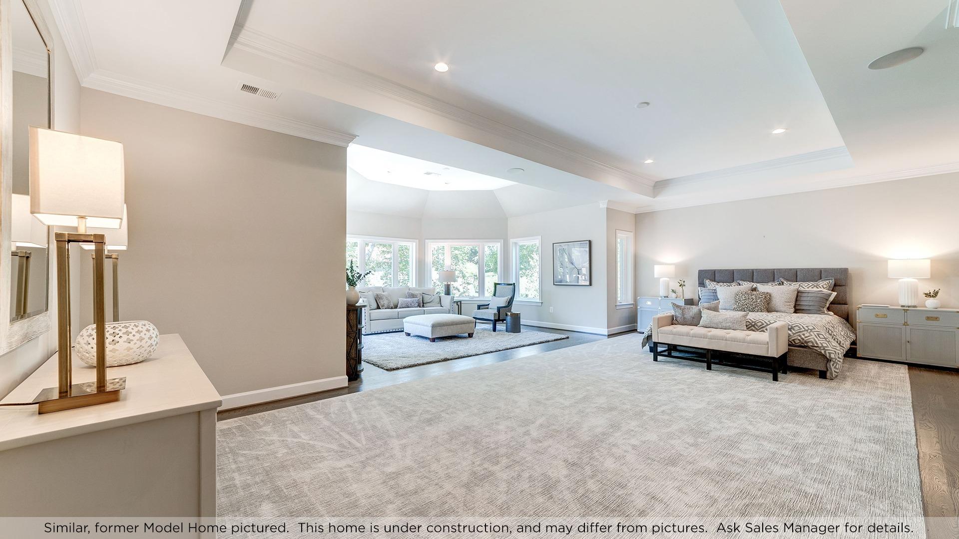 Owner's Bedroom, similar Model Home