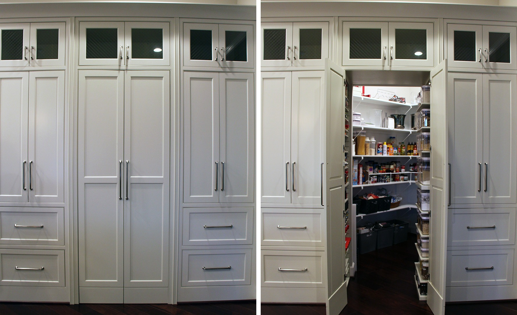 A neat, hidden pantry feature from a Gulick | One home.