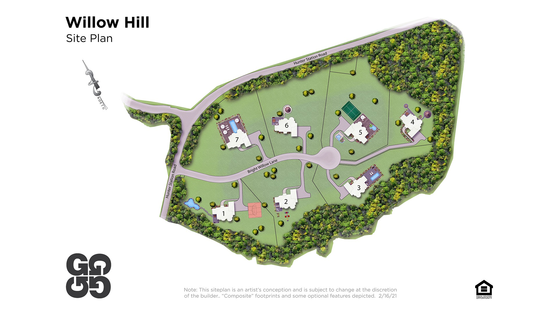 Willow Hill Site Plan